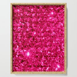 SparklE Hot Pink Serving Tray