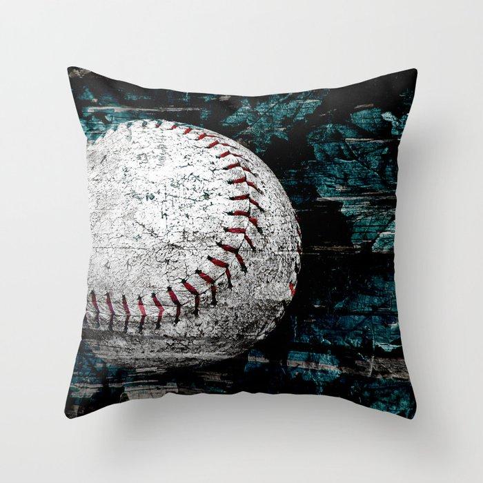 Baseball artwork variation 2 Deko-Kissen