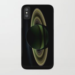 Glorious view of Saturn iPhone Case