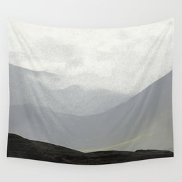 Rannoch Moor - mists and mountains Wall Tapestry