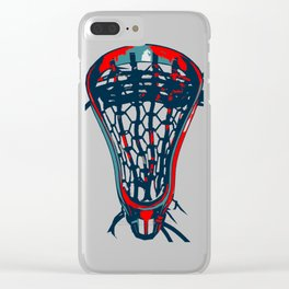 Lacrosse Vote Flow Clear iPhone Case