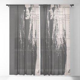 Nightmare Sheer Curtain