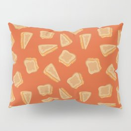 Grilled Cheese Print Pillow Sham