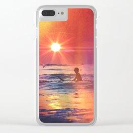 Vivid Summer Clear iPhone Case