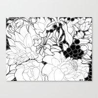 korean Canvas Prints featuring Korean Spring by Madame Mim