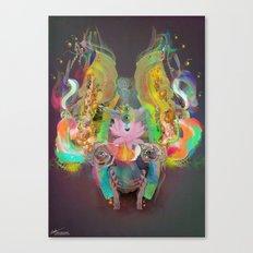 Illuminated Dream Field Canvas Print