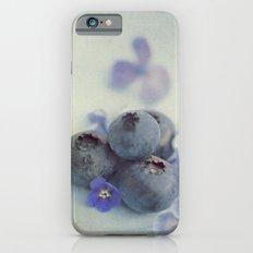 Blueberry Smile iPhone 6s Slim Case