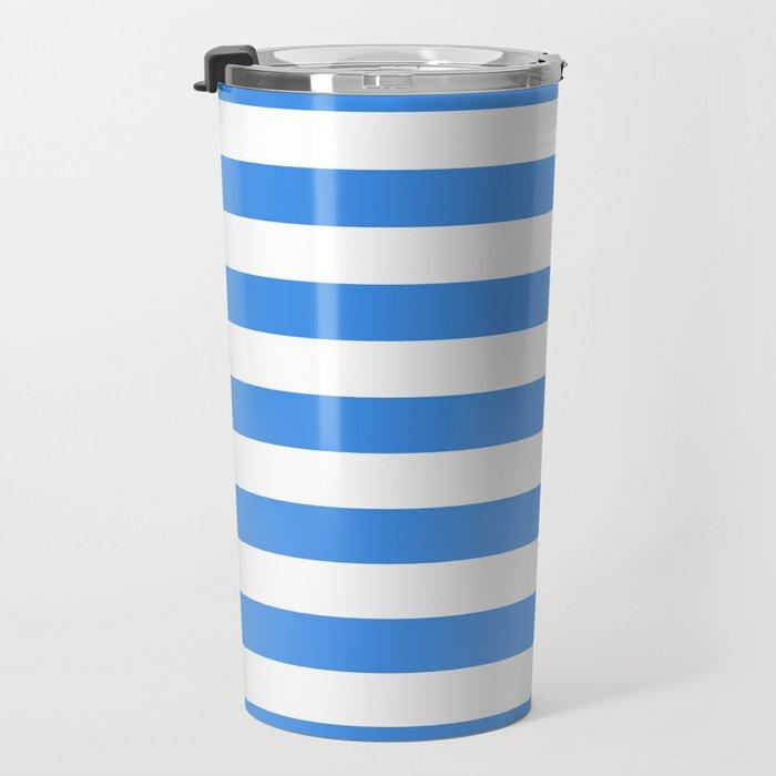 Micronesia San Marino Somalia Nicaragua flag stripes Travel Mug