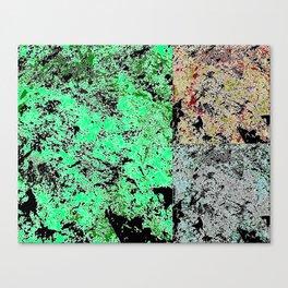 Grunge paint stains texture Canvas Print