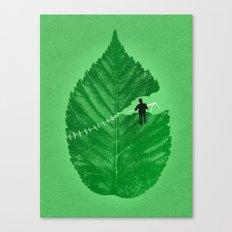 Loose Leaf Canvas Print