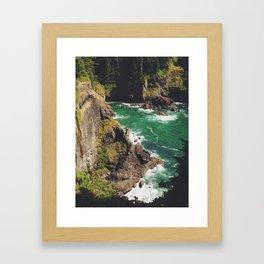 Hearts Cove Framed Art Print