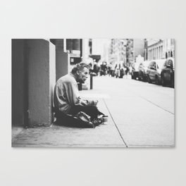 Re-Think your struggle. Canvas Print