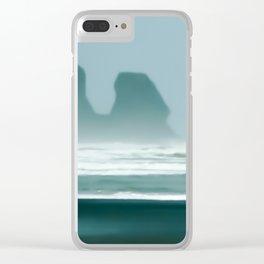New Zealand, Bethells Beach Clear iPhone Case