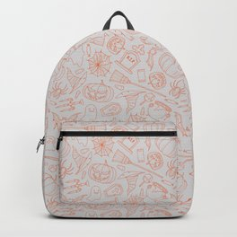 Wizard and Witch Pattern | Magic Sorcery Conjuring Backpack