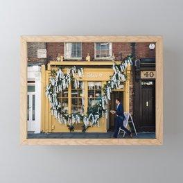 The pastry shop Framed Mini Art Print