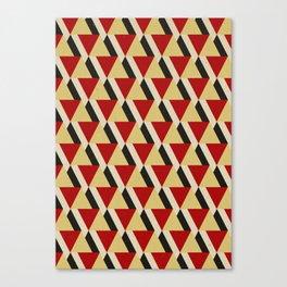Retrospect, Triangle Duo, No. 06 Canvas Print