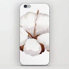 Cotton Flower 02 iPhone Skin