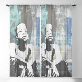 URBAN CHILD Sheer Curtain