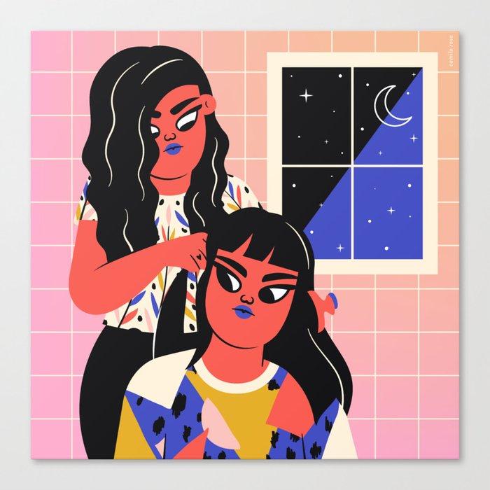 Sistahood Canvas Print
