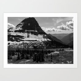 Montana Backcountry Art Print