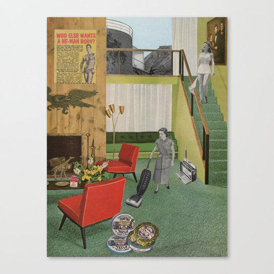 (Acting Like) Some Kind Of Fifties Housewife I Canvas Print
