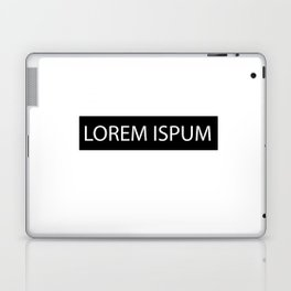 Lorem Ispum Laptop & iPad Skin