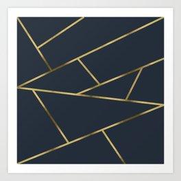 Copper and Midnight Navy #society6 #decor #buyart #artprint Art Print