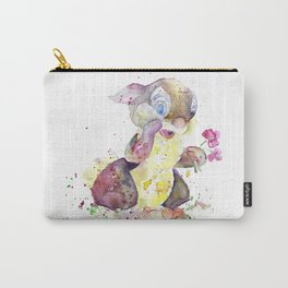 Thumper With Flowers Carry-All Pouch