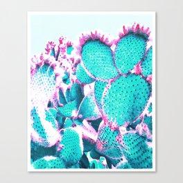 Cactus - watercolor Canvas Print