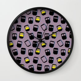 Niqabis pattern Wall Clock