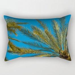 Underneath the Palms Rectangular Pillow