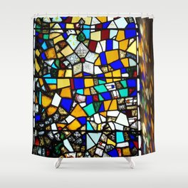 Beauty in Brokenness Andreas 3 Shower Curtain