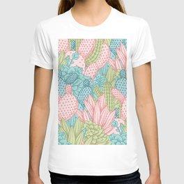 Pastel Cacti Obsession #society6 T-shirt
