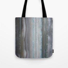 Agate Stripe Gray Tote Bag