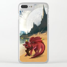 Dragonlings of Valdier: Amber Clear iPhone Case