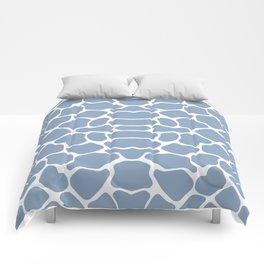Rock Blue Safari Giraffe Comforters