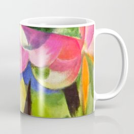 """Franz Marc """"Small Composition II also known as House with Trees) (Haus mit Bäumen) Coffee Mug"""