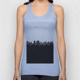 City Skylines: Minneapolis (Alternative) Unisex Tank Top