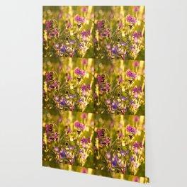 Summer Dream Wildflowers Meadow #decor #society6 Wallpaper