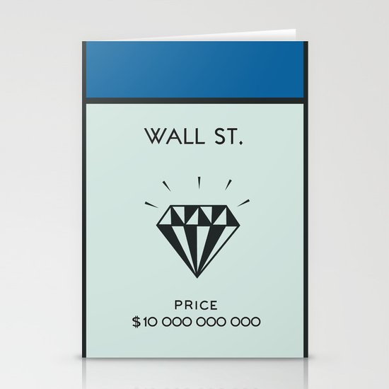 Occupy Wall Street? Stationery Cards