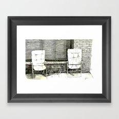 This is Where Framed Art Print