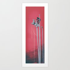 Drooling Machine Art Print