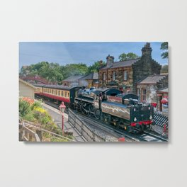Goathland Station - North Yorkshire Moors Railway Metal Print