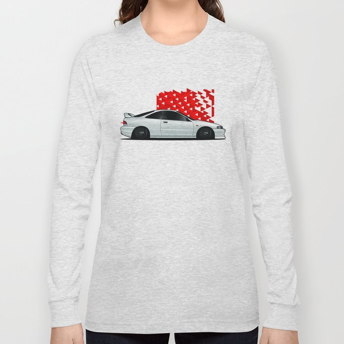 Acura Integra Long Sleeve Tshirt By Tsdgrafix Society - Acura shirt