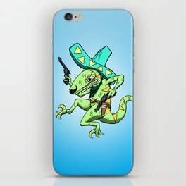 Kill the Robot Duplicates! iPhone Skin