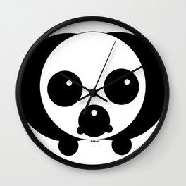 Pup Ellipse Wall Clock