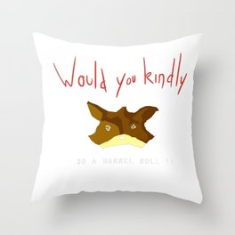 Crossover Starfox X Bioshock Throw Pillow