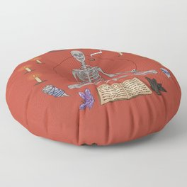 Advancing to Higher Realms Floor Pillow