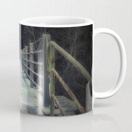 Dark bridge in the forest Coffee Mug