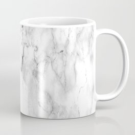 Carrara Marble Coffee Mug